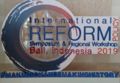 International Reform Policy Symposium & Regional Workshop 2019