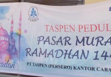 TASPEN Peduli : PT. Taspen Cab. Palu Gelar Pasar Murah di BKD Sulteng