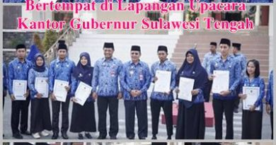 PENYERAHAN SK CPNS 2018 PEMPROV SULTENG