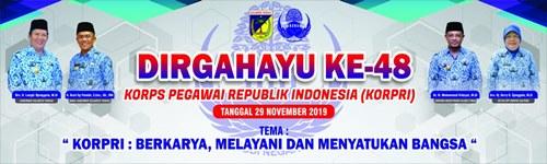 DIRGAHAYU KE-48 KORPS PEGAWAI REPUBLIK INDONESIA (KORPRI)