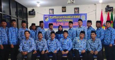 12 PEJABAT FUNGSIONAL SATUAN POLISI PAMONG PRAJA RESMI DIKUKUHKAN
