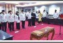 Gubernur Longki Djanggola Kembali Menata Pejabat Struktural Prov. Sulteng