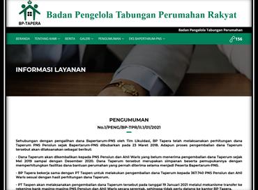 Dana Taperum : 19 Januari 2021 PT Taspen akan mulai melaksanakan pengembalian dana Taperum